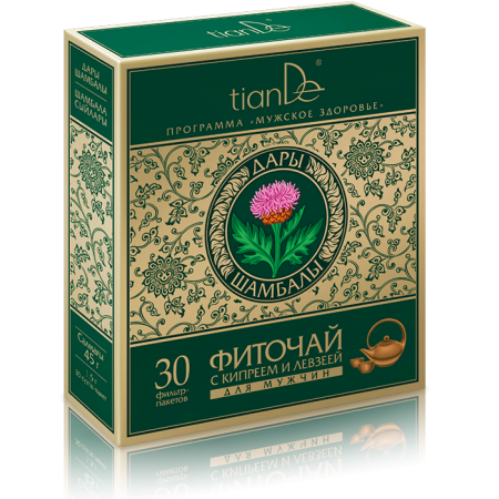 Herbal tea with epilobium and maral root for men,30+1.5g-0