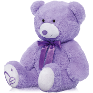 Lavender Bear Scented Pillow,1pc-0