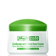 """""""Phytocode"""" Face cream with Cordyceps and sage 25+,50g-0"""